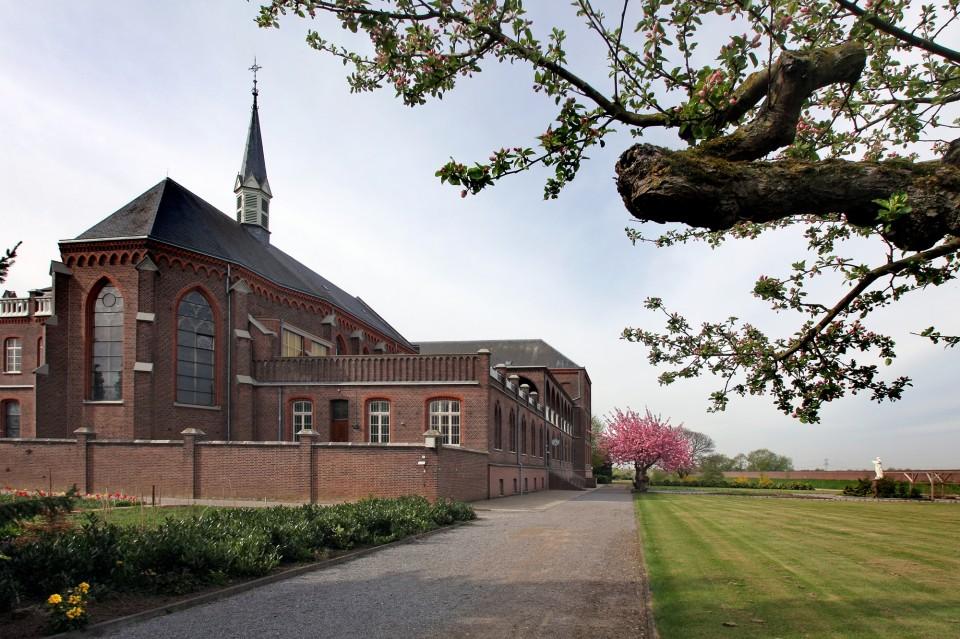Heilige Geestklooster, moederhuis aanbiddingszusters, Steyl  (achterzijde).